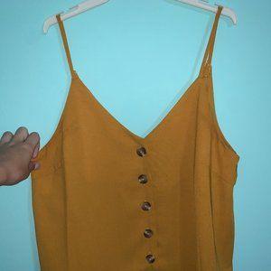 Marshalls Mustard Shirt